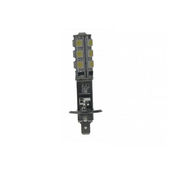 LED žiarovka 12V, H1, 13LED 3SMD