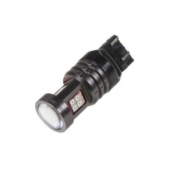 Autožiarovka LED T20 12/24V 13LED/2835SMD STU červená
