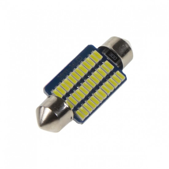 Autožiarovka LED SUFIT(39mm) 12V 36LED/4014SMD STU