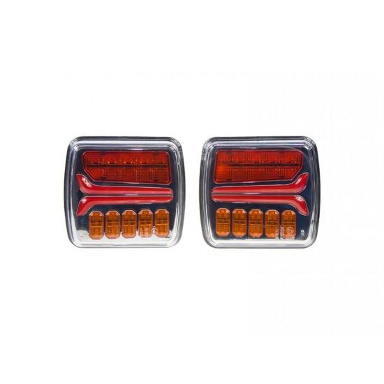 Dynamické blinkre LED STU zadné 2 svetlá
