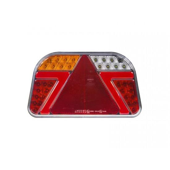 Dynamická smerovka LED STU zadná ľavá s trojuholníkom