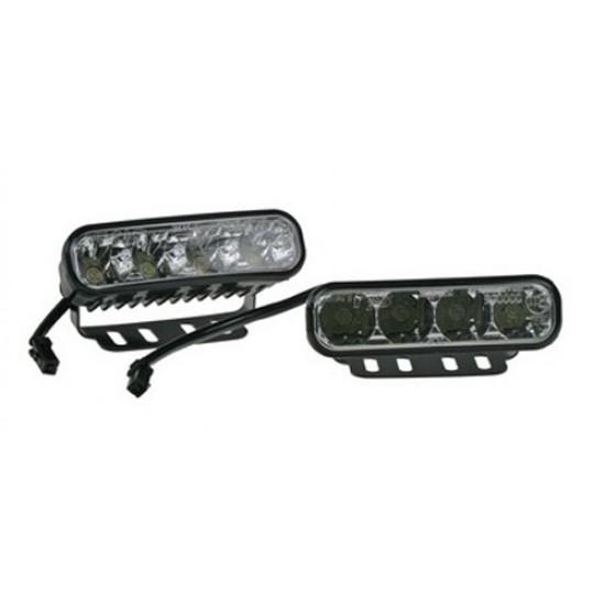 Svetlá pre denné svietenie LED SJ-287E typ2, homologizácia