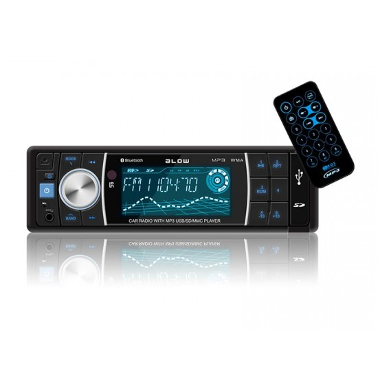 Autorádio BLOW AVH-8686 MP3, USB, SD, MMC, FM, BLUETOOTH, diaľkové ovládanie