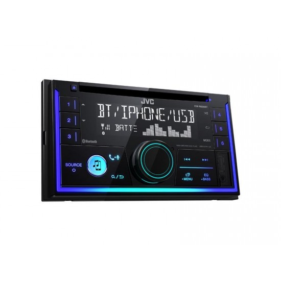 Autorádio JVC 2DIN s CD/MP3/BT KW R930BT