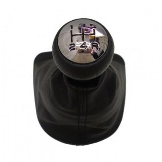 Páka radiaca s manžetou PEUGEOT 307 2001 - 2012 5st BLACK