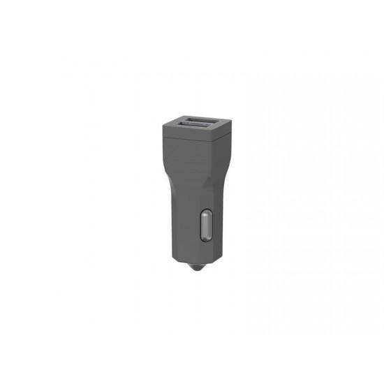 Autoadaptér CAR CHARGER 2x USB 3400 mAh SILVER