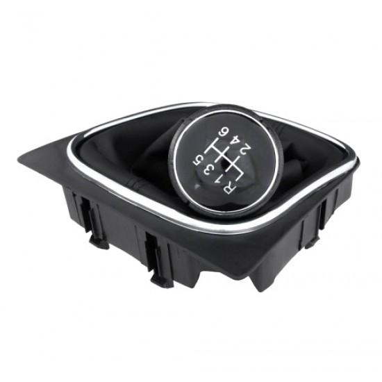 Páka radiaca s manžetou VW EOS 2006 - 2012 6st BLACK