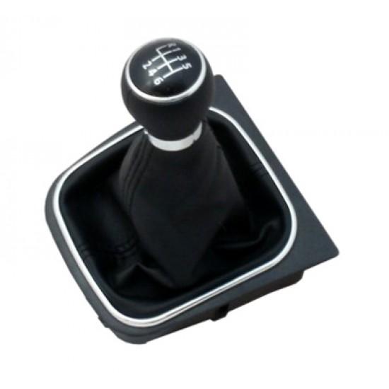 Páka radiaca s manžetou VW GOLF V 2003 - 2008 6st BLACK