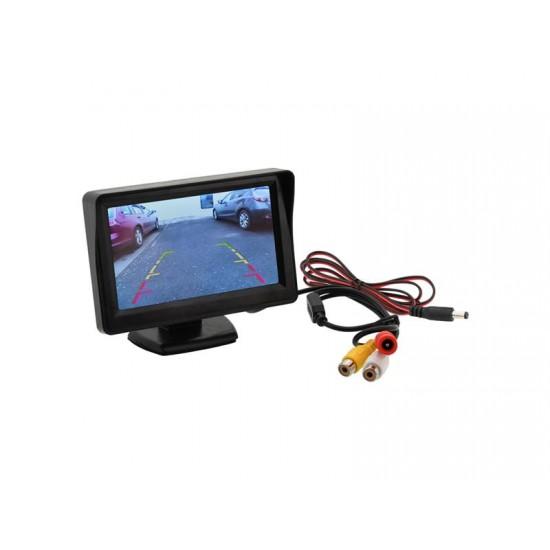 Displej LCD COMPASS 33397 pre parkovaciu kameru