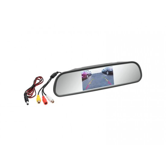 Displej LCD COMPASS 33398 na spätné zrkadlo