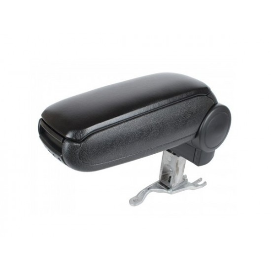 Opierka lakťová AUDI A4 B6 2000 - 2004 syntetická koža čierna