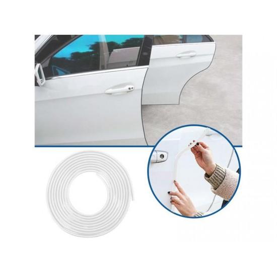 Ochranná lišta na auto 5m biela