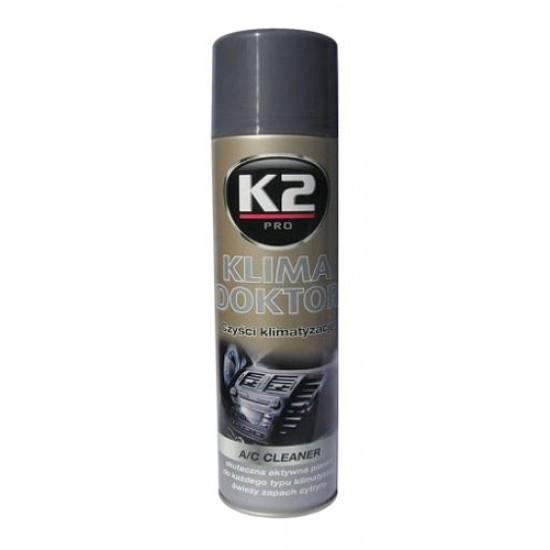 K2 KLIMA DOKTOR 500ml – penový čistič klimatizácie