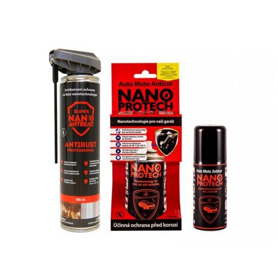 Sprej antikorózny NANOPROTECH AUTO MOTO ANTICOR 75 ml pre motoristov