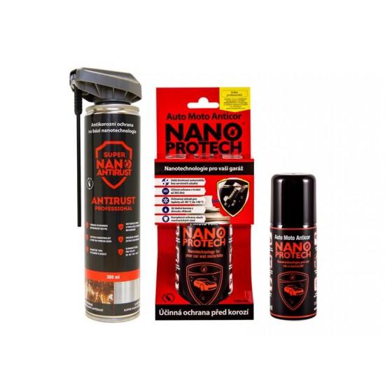 Sprej antikorózny NANOPROTECH AUTO MOTO ANTICOR 150 ml pre motoristov