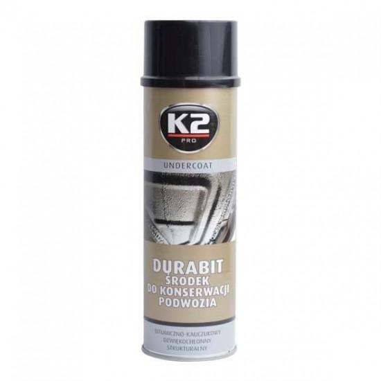 Chémia K2 UNDERCOAT 500 ml - ochranný asfaltový nástrek na podvozok