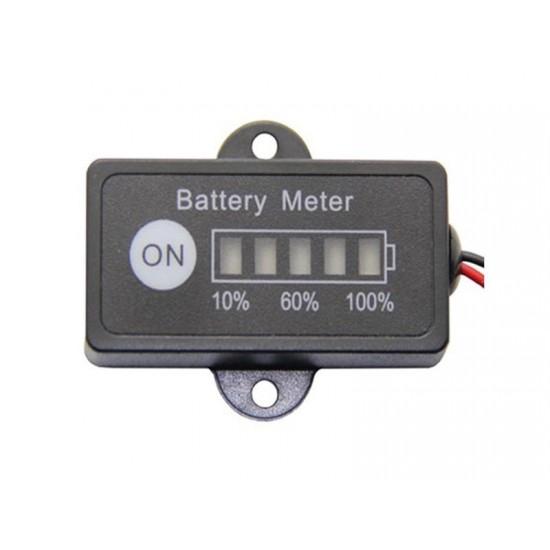 Panelové meradlo DV35948/12 tester kapacity autobatérie 12V