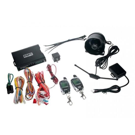 Autoalarm SPY 2-WAY CAR, 2x LCD ovládač