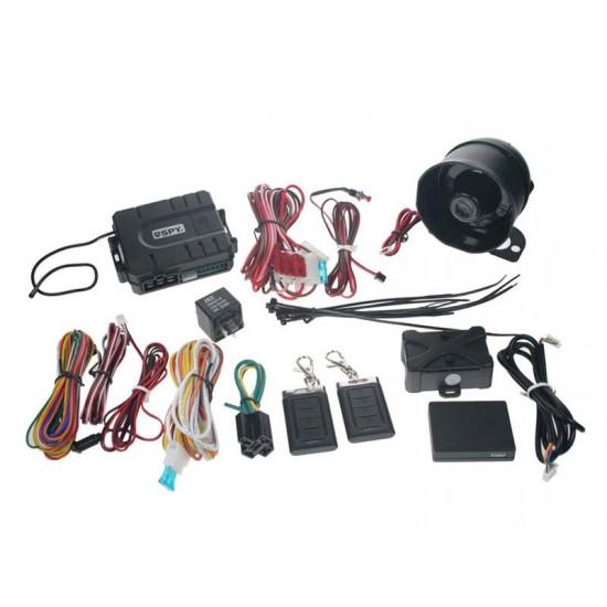 Autoalarm SPY PKE, bezdotykové diaľkové ovládanie