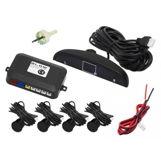 Senzory parkovacie BLOW PS-1 BLACK 19 mm