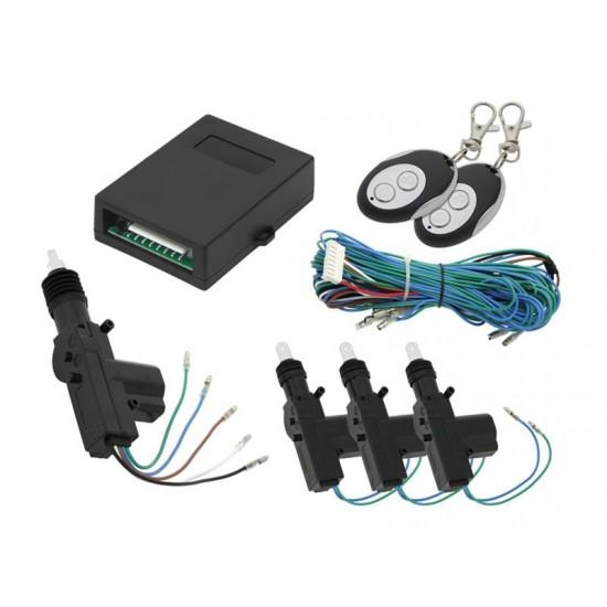 Centrálne zamykanie BLOW 3+1 dverové senzor 4.5 kg + 2x diaľkový ovládač