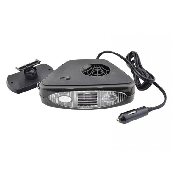 3in1 prídavné kúrenie / ventilátor / LED lampa (vyhrievanie automobilových okien)