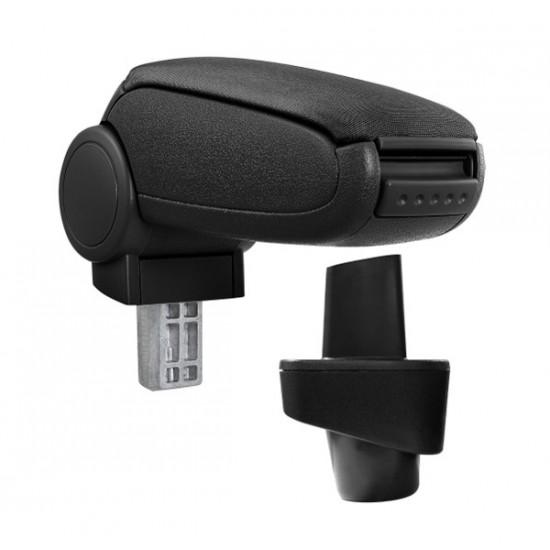 Opierka lakťová RENAULT CLIO III textilná čierna