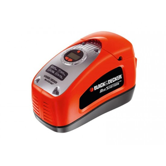Kompresor BLACK and DECKER 12V/230V 11bar, 115L/min ASI300-QS