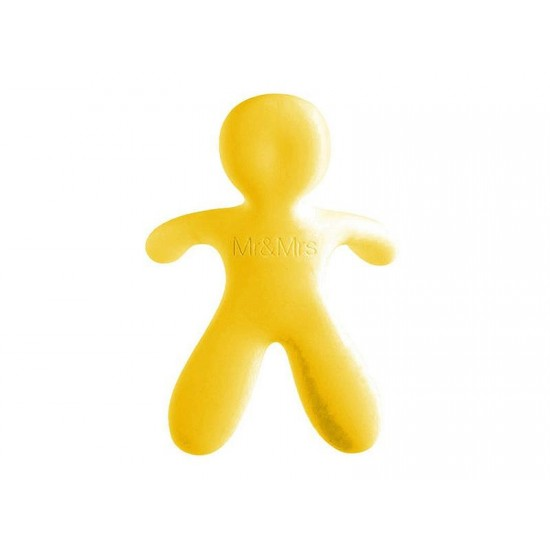 Osviežovač vzduchu Mr&Mrs Fragrance CESARE Vanilla žltý