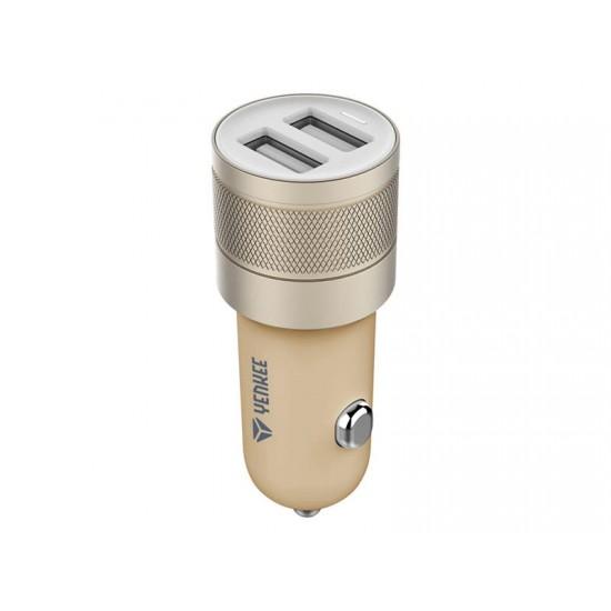 Nabíjačka do auta USB 2x 2.4A Yenkee YAC 2048GD