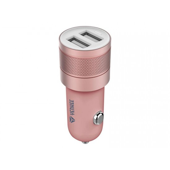 Nabíjačka do auta USB 2x 2.4A Yenkee YAC 2048RE